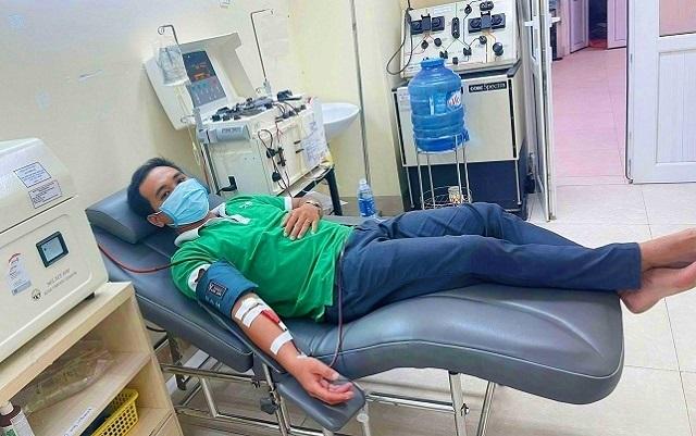 Chàng thanh niên xã vượt gần 100 km hiến máu cứu người - 1