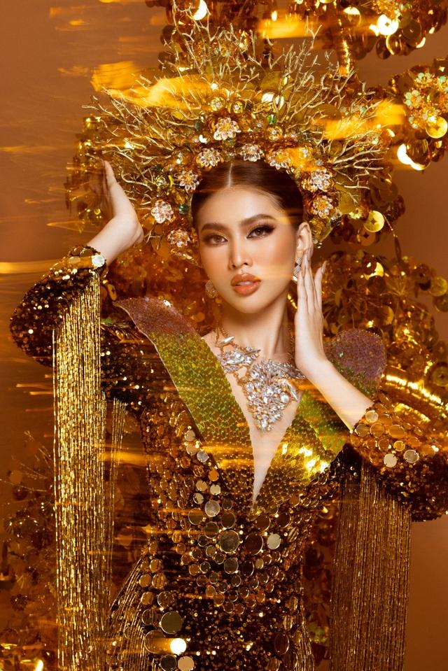 Ngọc Thảo dẫn đầu bình chọn trước đêm Chung kết Hoa hậu Hòa bình - 1