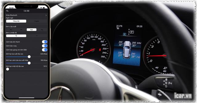 Cảm biến áp suất lốp cho xe Mercedes đã chính thức tung ra thị trường - 2