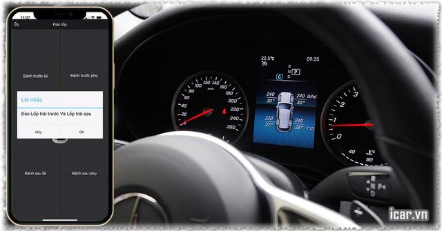 Cảm biến áp suất lốp cho xe Mercedes đã chính thức tung ra thị trường - 3