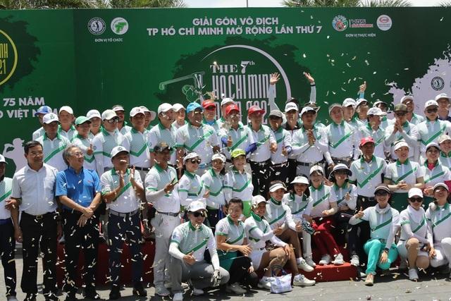 Khai mạc giải golf TPHCM mở rộng năm 2021 - 1