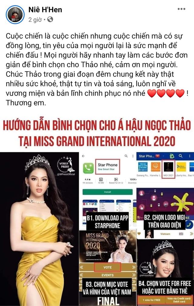 Ngọc Thảo dẫn đầu bình chọn trước đêm Chung kết Hoa hậu Hòa bình - 3