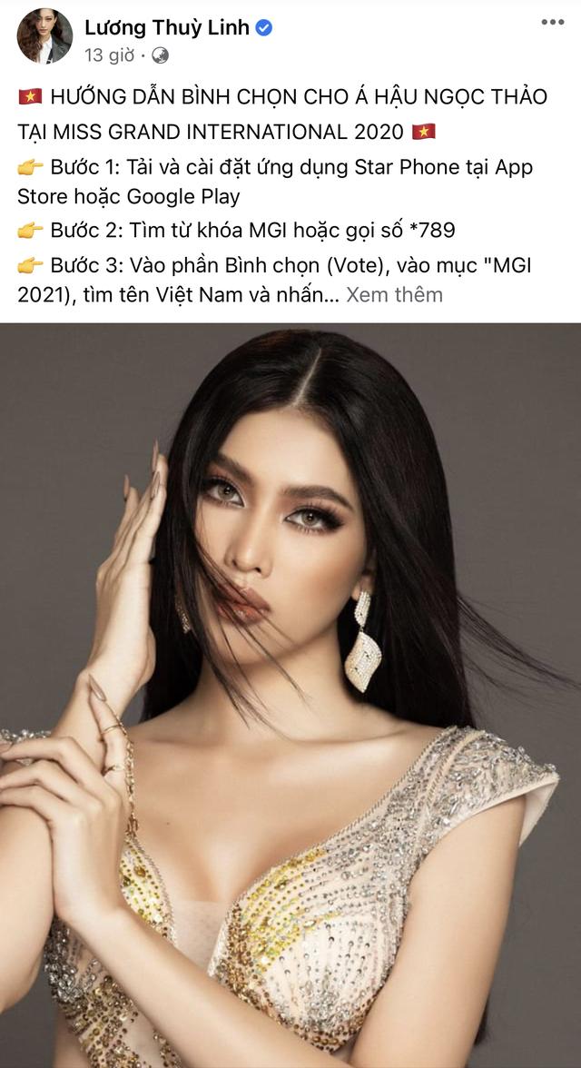 Ngọc Thảo dẫn đầu bình chọn trước đêm Chung kết Hoa hậu Hòa bình - 5