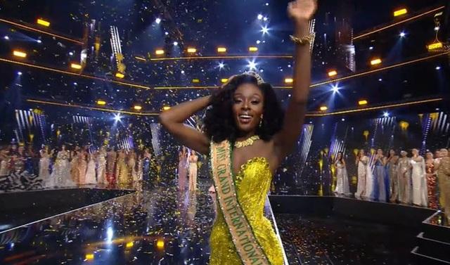 Người đẹp Mỹ đăng quang Hoa hậu Hòa bình Thế giới - 1