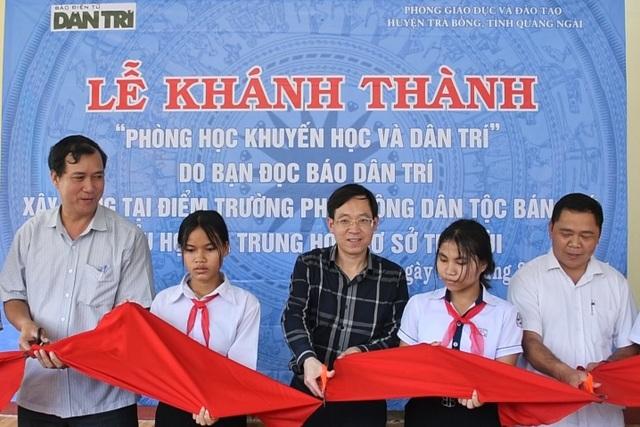 Khánh thành 3 phòng bán trú tặng các em học sinh vùng cao Quảng Ngãi - 1