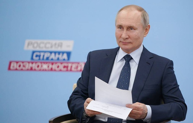 Tổng thống Putin cân nhắc trở thành blogger - 1