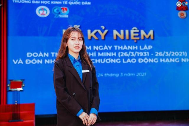 Nữ Đảng viên 9X tài năng, say mê công tác Đoàn trường ĐH Kinh tế Quốc dân - 1
