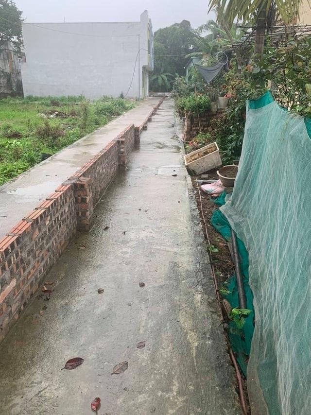 Thực hư thông tin dân Hải Phòng xây tường ngăn đôi đường vì sốt đất - 1