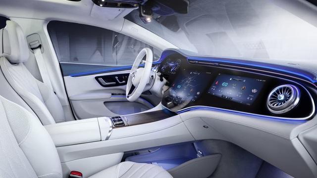 Không gian nội thất gây tò mò và choáng ngợp của Mercedes-Benz EQS - 13