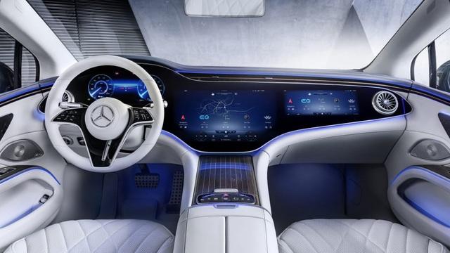 Không gian nội thất gây tò mò và choáng ngợp của Mercedes-Benz EQS - 14