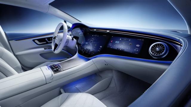 Không gian nội thất gây tò mò và choáng ngợp của Mercedes-Benz EQS - 2