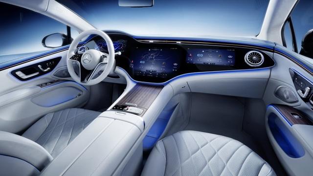 Không gian nội thất gây tò mò và choáng ngợp của Mercedes-Benz EQS - 11
