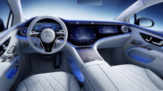 Không gian nội thất gây tò mò và choáng ngợp của Mercedes-Benz EQS - 1