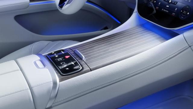 Không gian nội thất gây tò mò và choáng ngợp của Mercedes-Benz EQS - 3