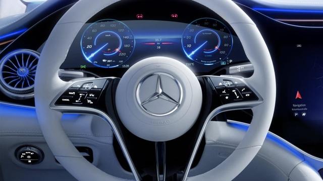 Không gian nội thất gây tò mò và choáng ngợp của Mercedes-Benz EQS - 15