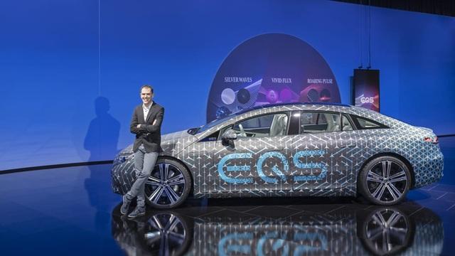 Không gian nội thất gây tò mò và choáng ngợp của Mercedes-Benz EQS - 10