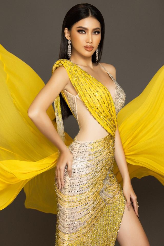 Hành trình của Ngọc Thảo khi lọt Top 20 Hoa hậu Hòa bình Quốc tế 2020 - 9