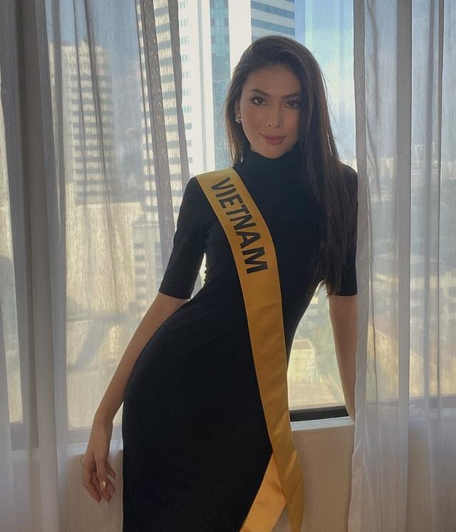Hành trình của Ngọc Thảo khi lọt Top 20 Hoa hậu Hòa bình Quốc tế 2020 - 5