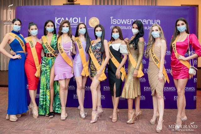 Hành trình của Ngọc Thảo khi lọt Top 20 Hoa hậu Hòa bình Quốc tế 2020 - 1