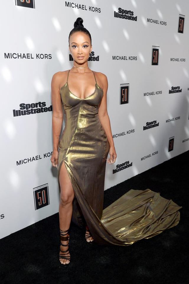 Draya Michele mặc váy lưới bốc lửa ra phố - 4