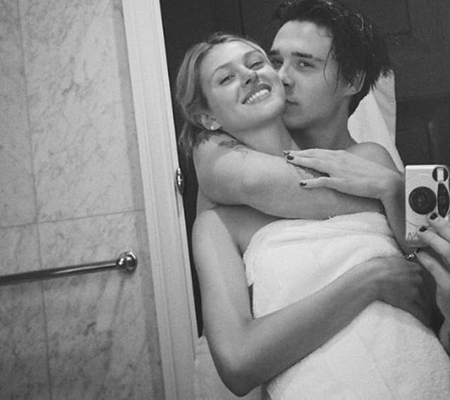 Loạt ảnh tình tứ của Brooklyn Beckham và con gái tỷ phú - 3
