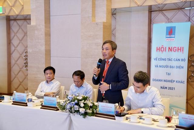 Hội nghị của PV GAS về công tác cán bộ và người đại diện của Tổng công ty tại DN khác năm 2021 - 2