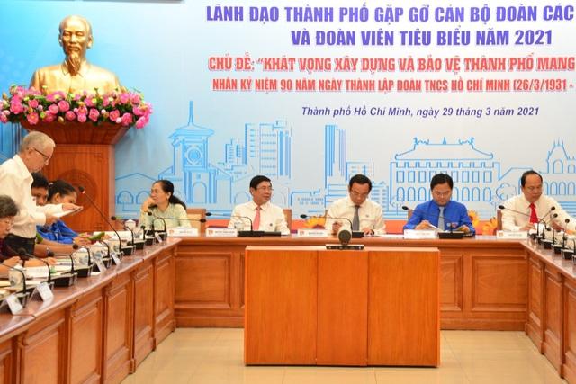 Bí thư Thành ủy TPHCM: Thanh niên đừng kêu ca, kể khổ khi gặp khó khăn - 1