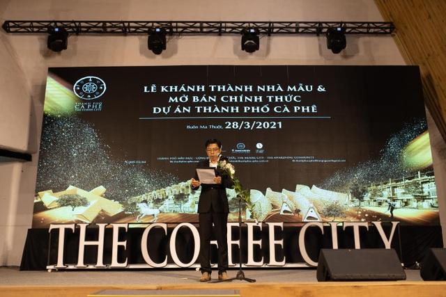 99% giao dịch thành công trong 80 phút mở bán dự án Thành phố Cà phê - 1