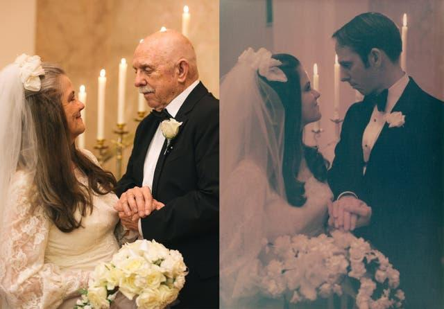 Ngưỡng mộ bộ ảnh cưới độc đáo của cặp vợ chồng U80 sau 50 năm kết hôn - 2