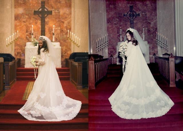 Ngưỡng mộ bộ ảnh cưới độc đáo của cặp vợ chồng U80 sau 50 năm kết hôn - 3