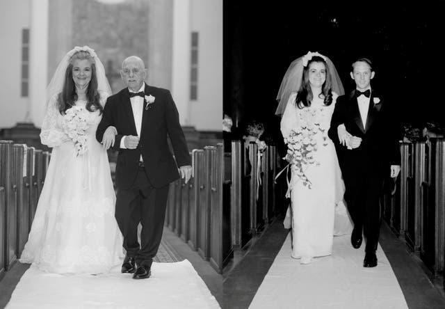 Ngưỡng mộ bộ ảnh cưới độc đáo của cặp vợ chồng U80 sau 50 năm kết hôn - 4