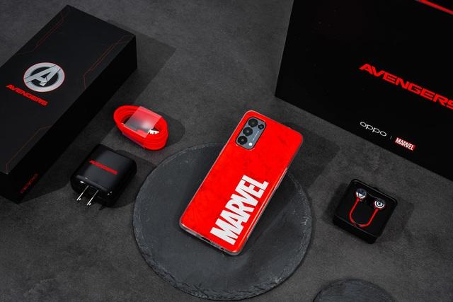 Reno5 Marvel Edition ra mắt tại Việt Nam, giá 9,7 triệu đồng - 1
