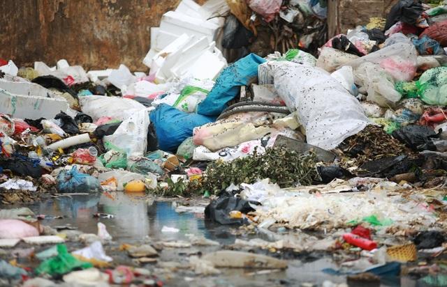 Dân lo lắng bệnh tật vì sống gần điểm trung chuyển rác - 4
