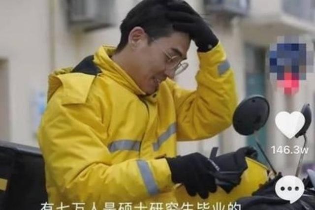 Thực hư vụ 70.000 thạc sĩ Trung Quốc đi làm shipper - 1