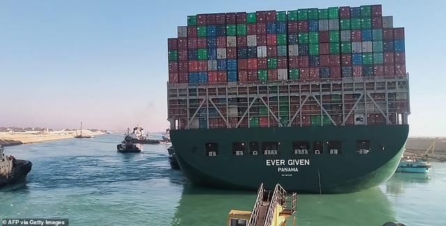 Siêu tàu nổi hoàn toàn, kênh đào Suez khai thông - 6