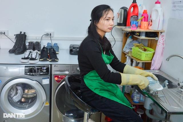 Giấc mơ làm nhà báo không thành, cô gái khiếm thính mở tiệm giặt đặc biệt - 2