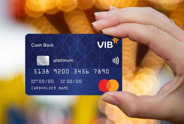Đặc quyền tài chính cho chủ thẻ tín dụng VIB - 1
