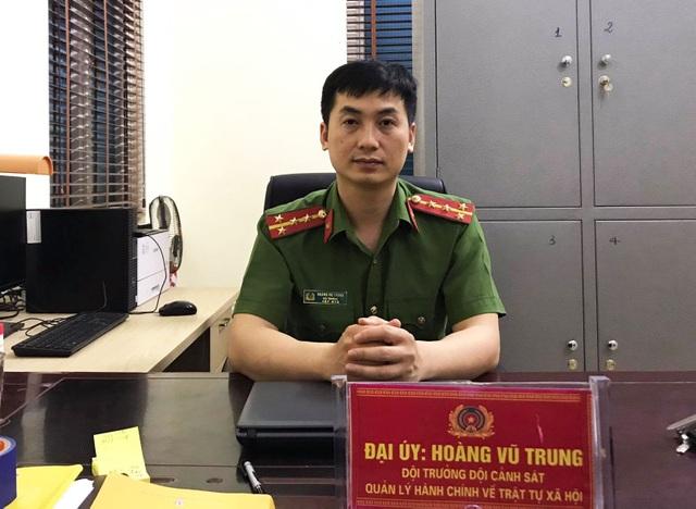 Lần lấy dấu vân tay cho người dân nhớ đời của đại úy công an - 2