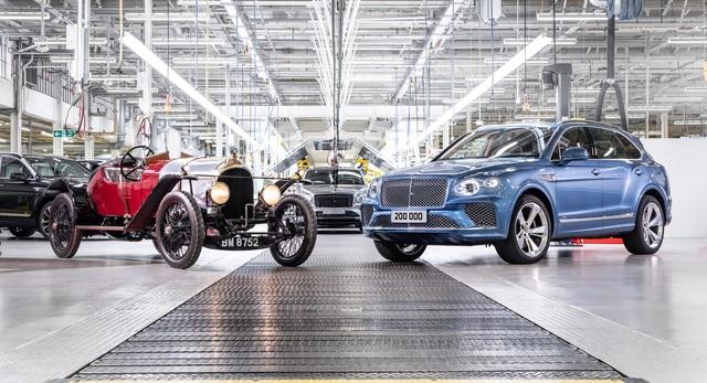 Xe nào đóng góp doanh số nhiều nhất cho Bentley? - 1