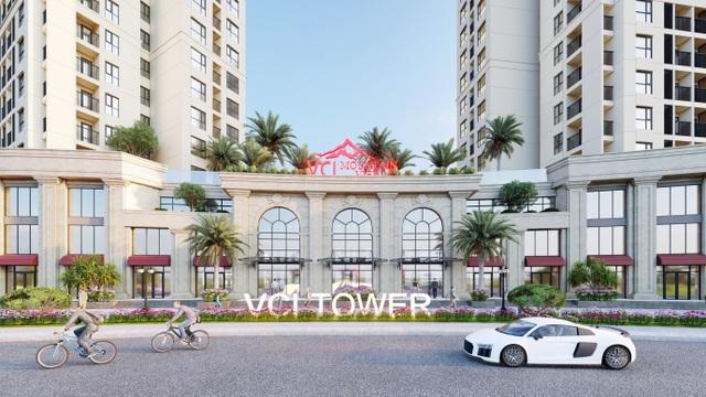 Đất Xanh Miền Bắc độc quyền phân phối khối đế thương mại VCI Tower Vĩnh Yên - 2