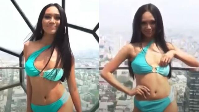 Hoa hậu bị lộ ngực tại Hoa hậu Hòa bình Thế giới dự định không về nước - 5