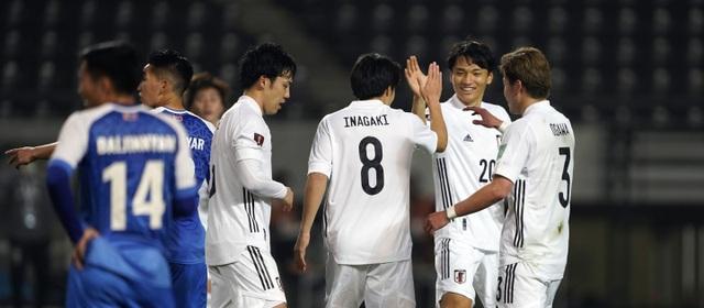 Nhật Bản giành chiến thắng kỷ lục 14-0 ở vòng loại World Cup - 2