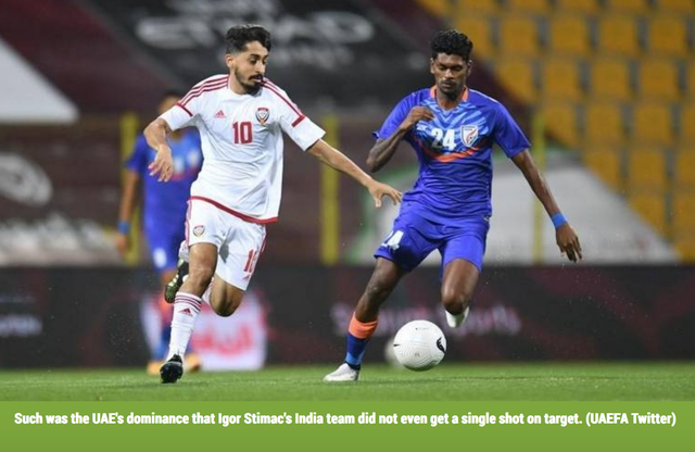 Thắng Ấn Độ 6-0, báo giới UAE gửi lời thách thức đến đội tuyển Việt Nam - 1