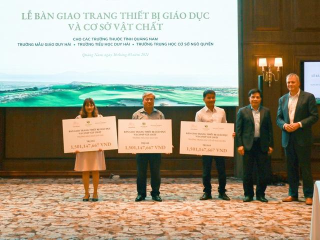 Quảng Nam: Tiếp nhận hơn 4 tỷ đồng để nâng cấp và sửa chữa các trường học - 1