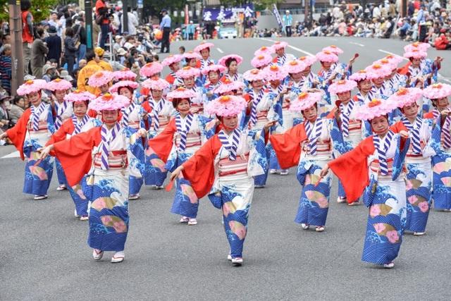 Nhảy múa với thìa múc cơm tại lễ hội 800 năm tuổi của xứ Phù Tang - 1