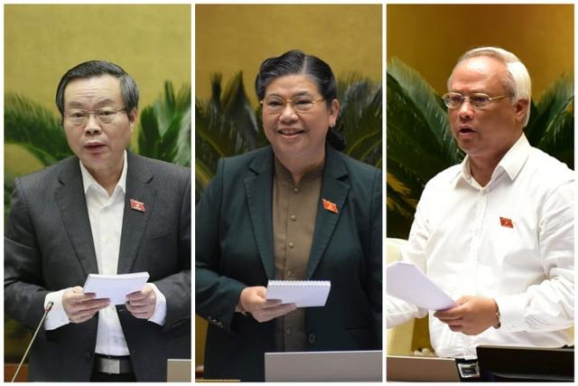 Quốc hội thống nhất miễn nhiệm 3 Phó Chủ tịch Quốc hội - 3