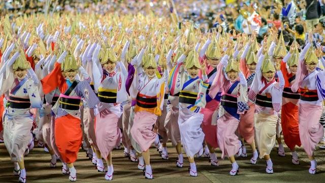 Nhảy múa với thìa múc cơm tại lễ hội 800 năm tuổi của xứ Phù Tang - 5