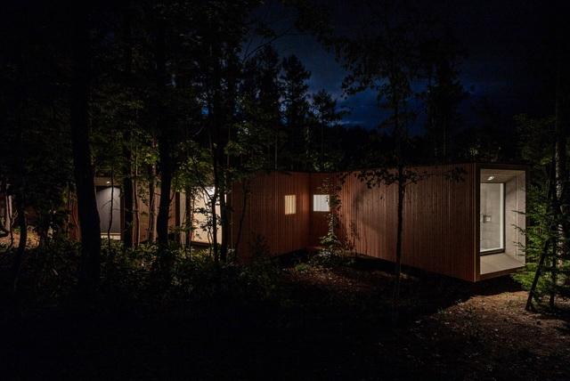 Nhà nghỉ dưỡng bằng gỗ ẩn mình giữa rừng cây ở Hokkaido, Nhật Bản - 5