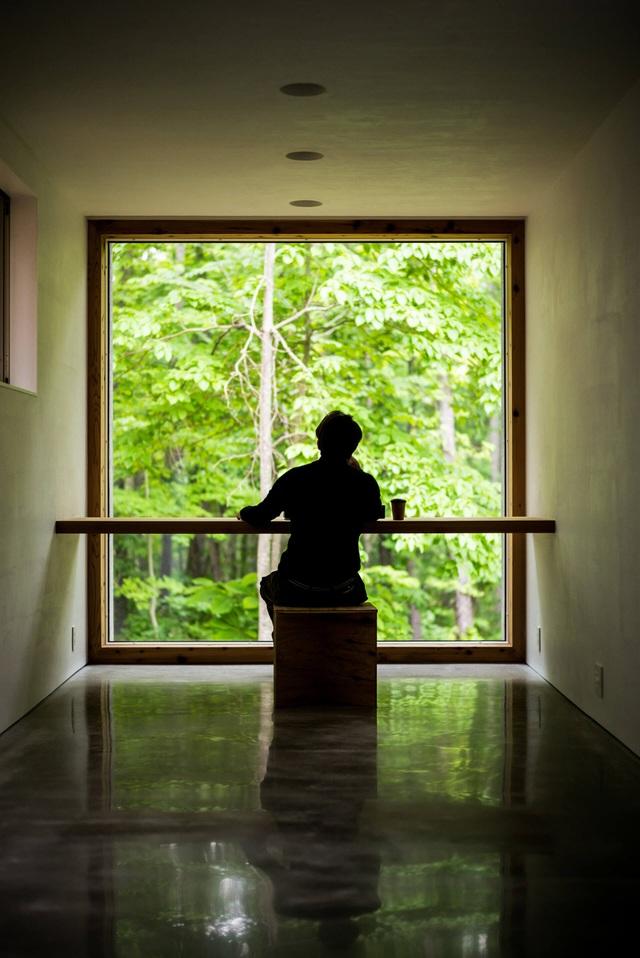 Nhà nghỉ dưỡng bằng gỗ ẩn mình giữa rừng cây ở Hokkaido, Nhật Bản - 8