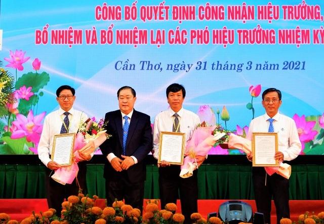 GS.TS Hà Thanh Toàn tiếp tục làm hiệu trưởng trường ĐH Cần Thơ đến năm 2025 - 2